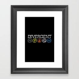 Faction Symbols Framed Art Print
