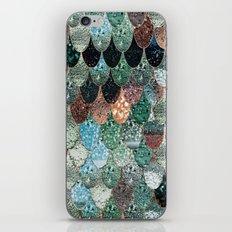 SUMMER MERMAID SEAWEED MIX by Monika Strigel iPhone & iPod Skin