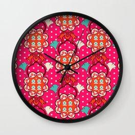 Jucy blossom Wall Clock