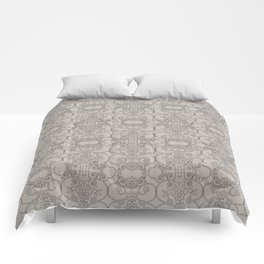 Mascara Vertical Lace Comforters