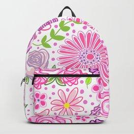 Happy Spring Flowers Backpack