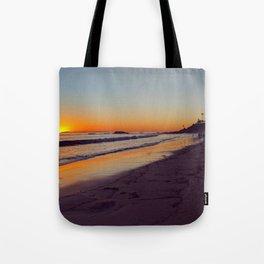 Violet Shore Tote Bag
