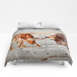 Texas Longhorns Comforters