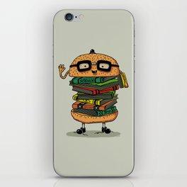 Geek Burger iPhone Skin