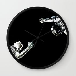 I'll take you to Mars Wall Clock