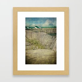 Beach II Framed Art Print