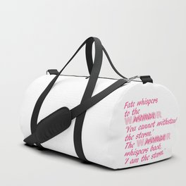 Fate Whispers pink Duffle Bag