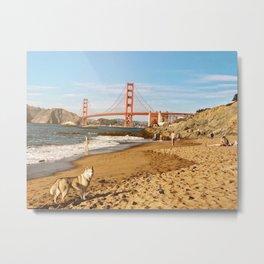 Sign of San Francisco Metal Print