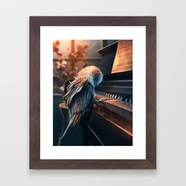 Piano Lesson Framed Art Print