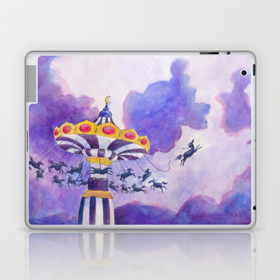 The Magic Carousel Laptop & iPad Skin