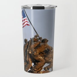 US Marine Corps Memorial Travel Mug