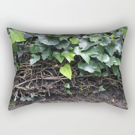 Green World. Fashion Textures Rectangular Pillow