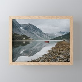 Norway I - Landscape and Nature Photography Framed Mini Art Print
