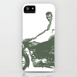 Dad on a Bike iPhone Case