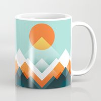 outdoor Mugs featuring Everest by Picomodi
