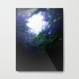 The Light Will Guide Your Way: treeS Metal Print