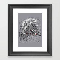 The Smog Monster Framed Art Print