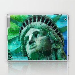 Pop Art Statue of Liberty Laptop & iPad Skin