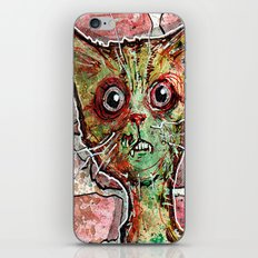 Chester the zombie cat iPhone & iPod Skin