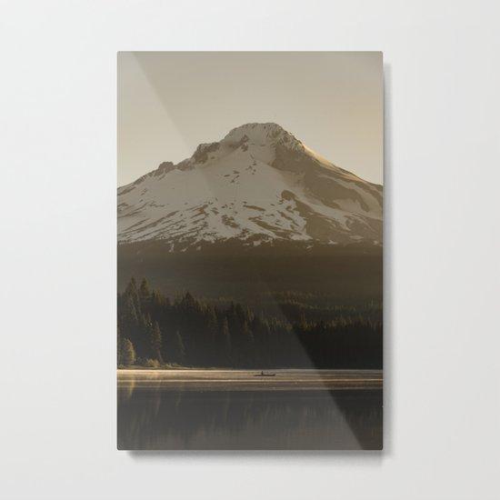 Mount Hood Adventure IV Metal Print