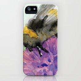 Watercolor Bee 7 iPhone Case