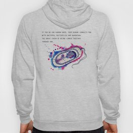 The secret fantasy of the bacteria Hoody