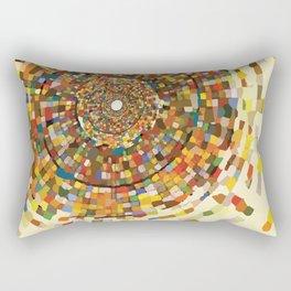 Circle in a Spiral Rectangular Pillow