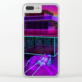 Tiger Guardians Clear iPhone Case