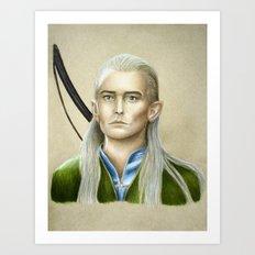 Legolas Art Print