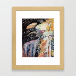 Zero Point Field III Framed Art Print