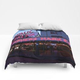 Public Market, Seattle WA Comforters