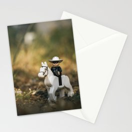 lone ranger cowboy Stationery Cards