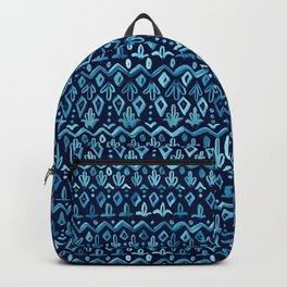 Mya Watercolor - Blue Backpack