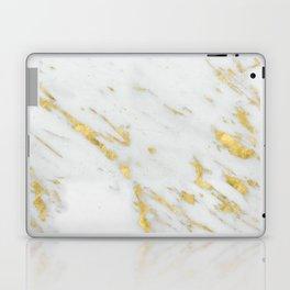 Treviso gold marble Laptop & iPad Skin