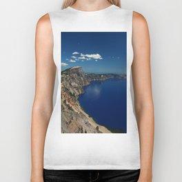 Crater Lake View with Caldera Rim Biker Tank