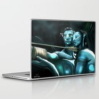 avatar Laptop & iPad Skins featuring Avatar by Dano77