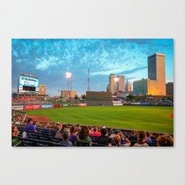 OneOk Stadium - Tulsa Drillers Stadium View Canvas Print
