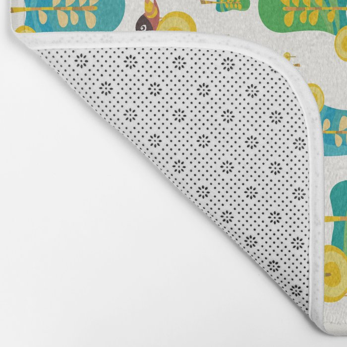 TWITTERING IN THE TREES  Bath Mat