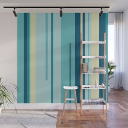 Colorful Lines Wall Mural