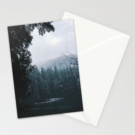 Winter Hiking Stationery Cards