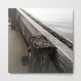 the break water 05 Metal Print