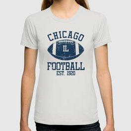 Chicago Football Fan Gift Present Idea T-shirt