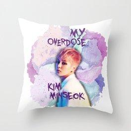 Kim Minseok Throw Pillow
