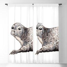 Harbour Seal Blackout Curtain