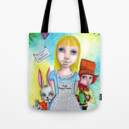 Alice and Friends by Kylie Fowler Tote Bag