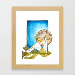 Her Majesty Framed Art Print