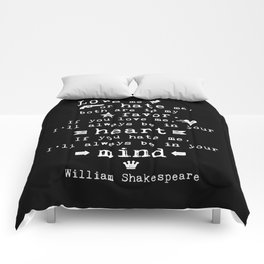 philosophy Shakespeare quote about love and hate Comforters