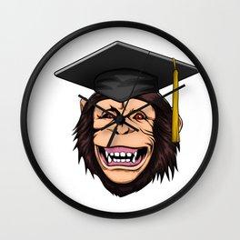 Graduate Monkey Class of 2019 Graduation Wall Clock