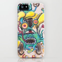 Aussie Road Rage Hoon Monster iPhone Case