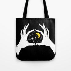 I heart the moon Tote Bag